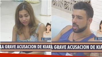 La tremenda acusación de Kiara a Leonel en Despedida de solteros (Fotos: Captura)