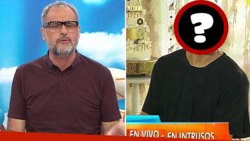 Flavio Mendoza volvió a Intrusos después de dos años de