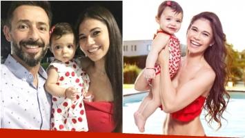 La nueva vida de Mariana de Melo con su hija de 10 meses (Fotos: Instagram)