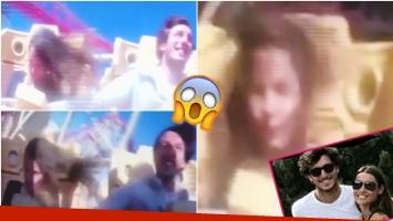 ¿Pampita se desmayó en una montaña rusa? (Fotos: Captura y Web)