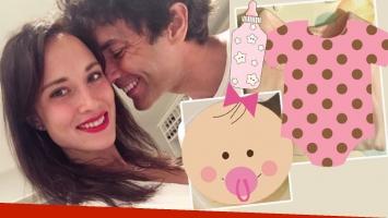 La novia de Mariano Martínez confirmó que espera una nena (Foto: Instagram Stories)
