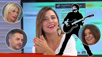 La anécdota de Mariana Brey y su noche de amor con el famoso cantante