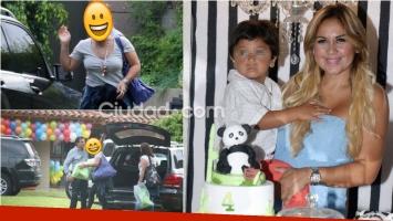Las fotos del cumpleaños de Dieguito Fernando Maradona. Foto: Movilpress