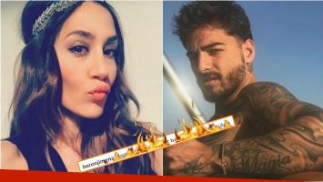 El comentario hot de Jimena Barón en una foto sexy de Maluma. Foto:  Instagram