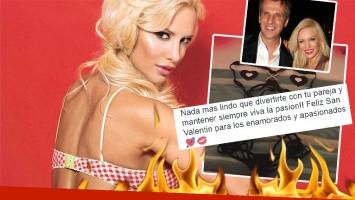 Luli Salazar mostró la lencería súper hot usará con Martín Redrado en San Valentín  (Foto: Twitter y web)