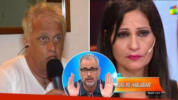 Andrés Nara dejó a Carinara en vivo y por teléfono con Intrusos