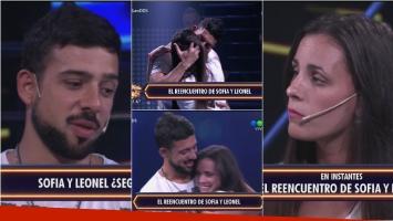 El reencuentro de Leonel y Sofía, después de la decisión de ella de abandonar Despedida de solteros