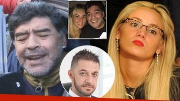 El video del escándalo de Diego Maradona y Rocío Oliva en Madrid