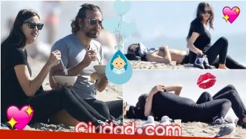 Irina Shayk y Bradley Copper, enamorados y embarazados en San Valentín (Fotos: Grosby Group)