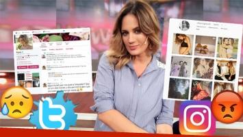 Paula Chaves, el uso de las redes sociales y la agresión entre las mujeres (Foto: Twitter e Instagram)
