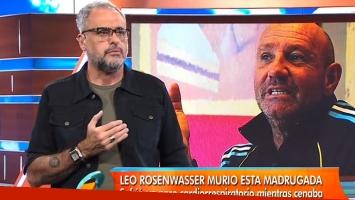 Jorge Rial y un fuerte mensaje tras la muerte de Leo Rosenwasser (Foto: web)