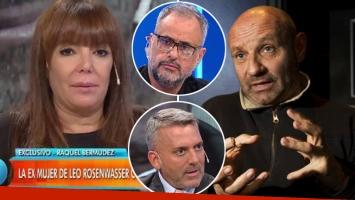 El llamado desesperado de la exesposa de Leo Rosenwasser luego de enterarse de su desvanecimiento