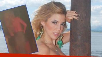 El descargo de Virginia Gallardo tras filtrarse un falsa grabación hot (Fotos: Web y Captura)