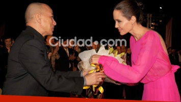 Angelina Jolie en Camboya