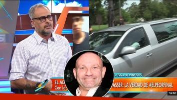 """Jorge Rial y su ácida crítica a """"los viudos de Twitter"""" de Leo Rosenwasser"""