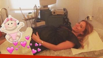 La foto de Evangelina Anderson, a pocas horas de dar a luz (Foto: Instagram)