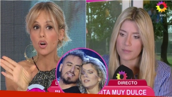 Mariana Fabbiani, filosa con Laurita Fernández sobre los rumores de romance con Fede Bal. Foto: Captura