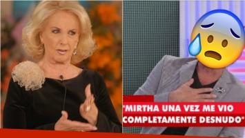 Sergio Company contó sobre el día que Mirtha Legrand lo vio completamente desnudo