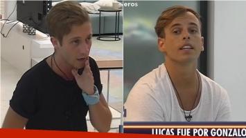 La pelea entre Lucas y Gonzalo en Despedida de solteros. Foto: Captura