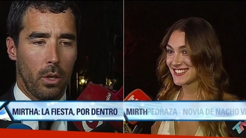 Nacho Viale y Lucía Pedraza