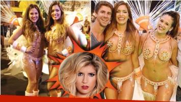 Barbie Vélez y Rocío Robles, juntas en el carnaval de San Fernando (Fotos: Twitter y Ciudad.com)