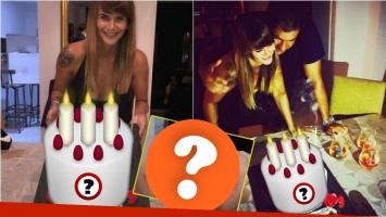 La particular torta con la que Amalia Granata celebró su cumpleaños... ¡y su increíble inspiración!