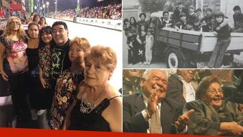 Diego Maradona viajó a Corrientes con sus hermanas y hermanos. (Fotos: Facebook y Web)