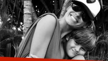 El saludo de cumpleaños de Pampita a su hijo, Bautista (Foto: Twitter)