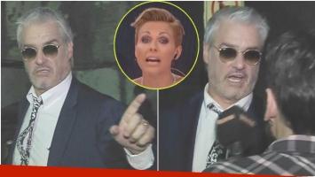 La furia de Roberto Pettinato con Infama y el fuerte descargo de Denise Dumas al aire (Fotos: Captura)