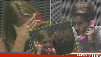 Antonella pidió el cuarto de cristal en Despedida de solteros: mirá cómo fue el encuentro con su novio (Fotos: Captura)