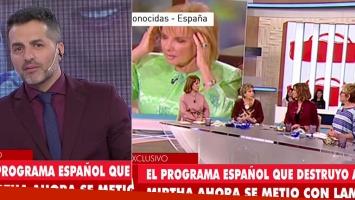 El enfrentamiento de LAM con un programa español por criticar a Mirtha Legrand (Foto: web)