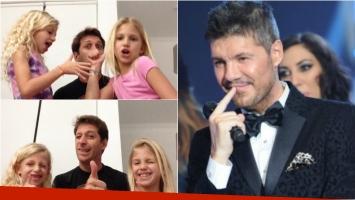 El tierno video de Martín Sipicki y unas nenas que fascinó a Tinelli: