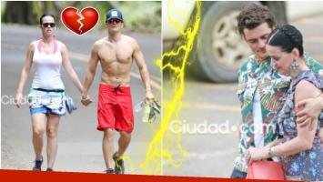 ¿No va más? Orlando Bloom y Katy Perry se separaron (Fotos: archivo Ciudad.com - Grosby Group)