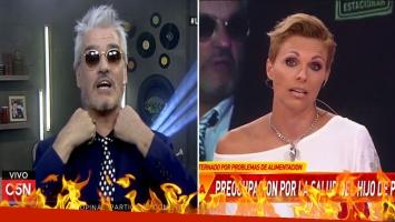 Ácida respuesta de Petti a Denise Dumas, tras el escándalo con el notero de Infama