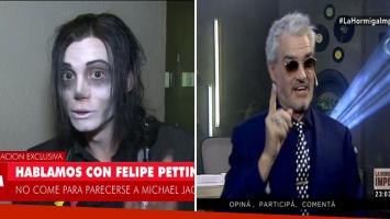 Felipe Pettinato habló de sus problemas alimenticios
