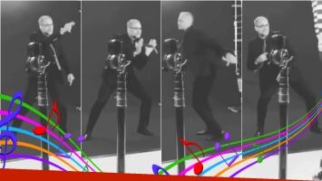 Mirá cómo baila Jorge Rial en las promos de América. Foto: Captura