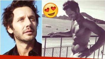 Benjamín Vicuña mostró sus abdominales de acero en Instagram (Fotos: Instagram)