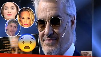 Los picantes chistes sobre los famosos en los créditos del programa de Pettinato