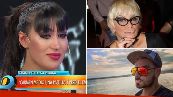 Tamara Gala dio detalles del supuesto aborto que sufrió en 2012 y apuntó a Carmen Barbieri