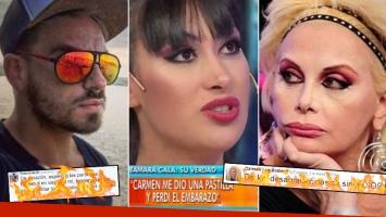 uertes tweets de Fede Bal y Carmen Barbieri contra Tamara Gala