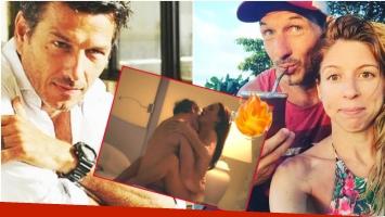 La reacción de Florencia Bertotti sobre las escenas de sexo de Federico Amador con Eleonora Wexler en Amar después de amar (Fotos: Instagram y Captura)