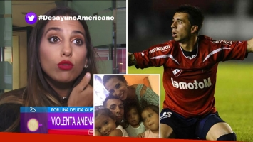 Cinthia Fernández denució amenazas de muerte de barras de Independiente