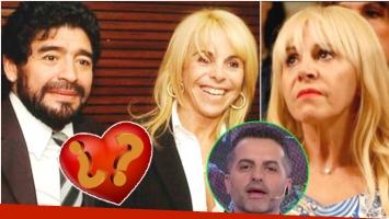 La respuesta de Claudia Villafañe sobre las posibilidad de volver a estar en pareja con Diego Maradona (Fotos: Web y Captura)