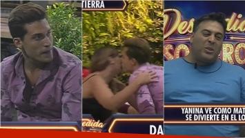 La estrategia de Damián en Despedida de solteros para enfurecer a Matías: ¡le dio un beso a su novia Yanina!