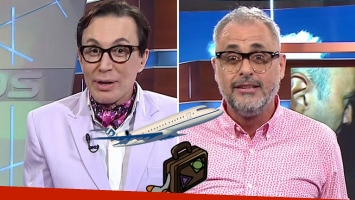 La ironía de Marcelo Polino para Jorge Rial por sus vacaciones
