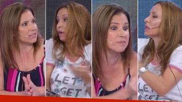 Analía Franchín debatió con Fernanda Iglesias sobre la violencia de género