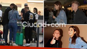 El Polaco y Silvina Luna se tomaron sus primeras vacaciones como novios. (Foto: Movilpress - Ciudad.com)