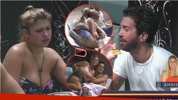 La pelea entre Karen y Pablo, después que Alan manoseó a Angie en Despedida de solteros