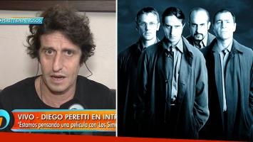 Diego Peretti y el proyecto de llevar Los Simuladores al cine
