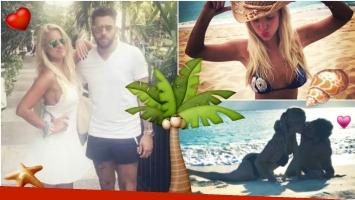 Ailén Bechara, amor y sensualidad en sus vacaciones con su novio (Fotos: Instagram)